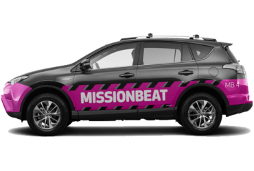 Car wrap - Mission Beat