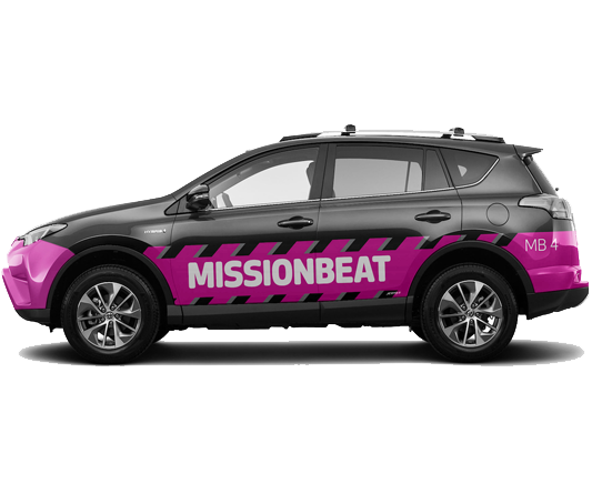 Vehicle Wrap – Missionbeat
