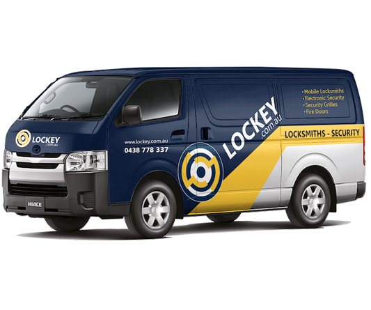 Vehicle Wrap – Lockey Locksmiths